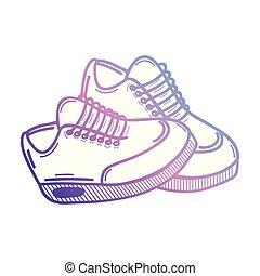 Diseño de zapatillas deportivas