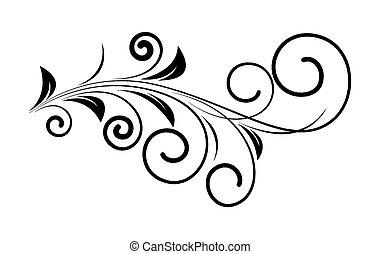 Diseño floral de decoración