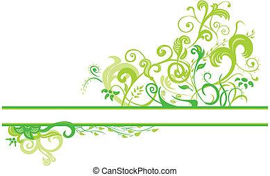 Diseño floral de primavera