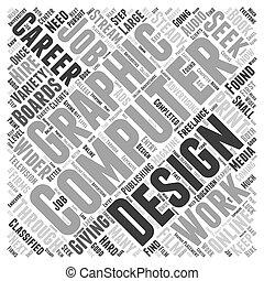 Diseño gráfico de computadora concepto de nube