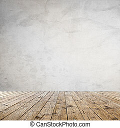 Diseño interior con papel tapiz grunge