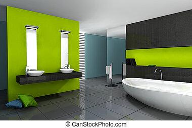 Diseño moderno de baño