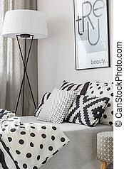 Diseño moderno de dormitorio