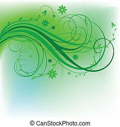 Diseño natural verde