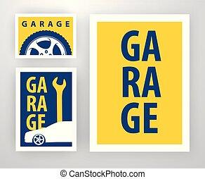Diseño para decoración del garaje