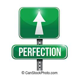 diseño, perfección, ilustración, señal