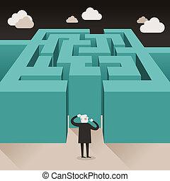 Diseño plano concepto de desafío