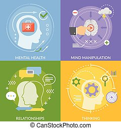 Diseño plano mental