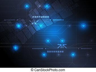 Diseño tecnológico de fondo