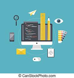 Diseño web y desarrollo de programación