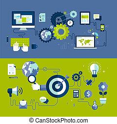 Diseño web y proceso de publicidad