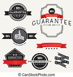 Diseños de etiquetas del vector