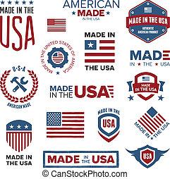 diseños, hecho, estados unidos de américa