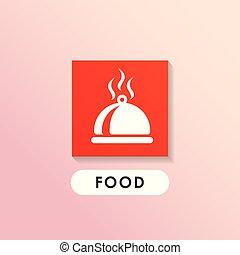 Dish vector icon diseño. Diseño de iconos