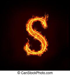 Dispare alfabetos, S