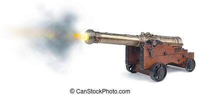 disparo, canon
