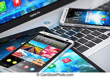 Dispositivos móviles modernos