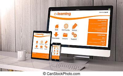 Dispositivos responden con el aprendizaje en línea