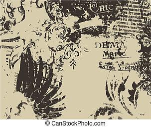 Distresada arte medieval