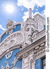 Distrito Riga Art Nouveau
