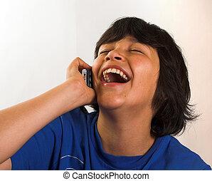 Diversión en el teléfono