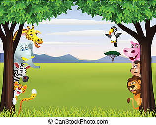 Divertido episodio de safari animal