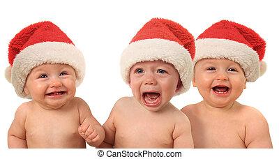 Divertidos bebés de Navidad