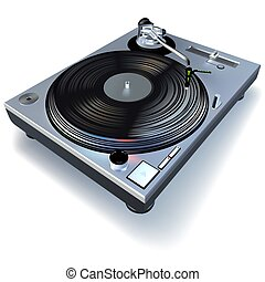 DJ gramófono