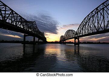 doble, puentes
