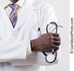Doctor africano americano