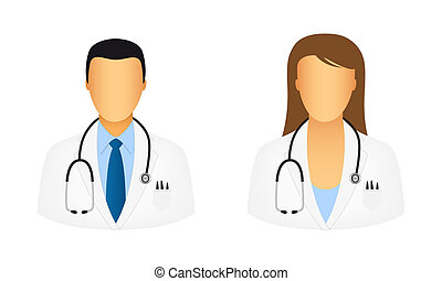 doctor, iconos