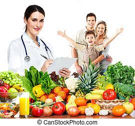 doctor, nutricionista, family.
