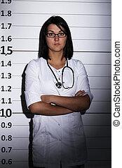 Doctor sobre la cárcel