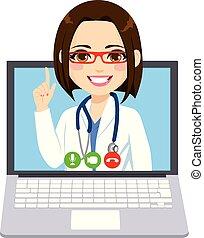 Doctora en línea