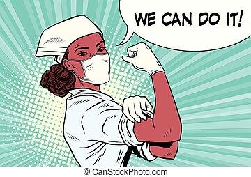 Doctora negra podemos hacerlo