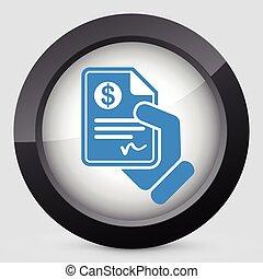 documento, pago