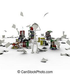 documentos, caos, figura