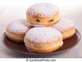Donuts de calabaza