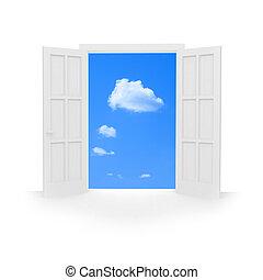 door., abierto