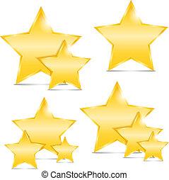 dorado, estrellas