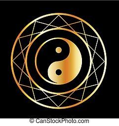 dorado, taoísmo, símbolo, daoism