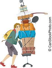 dorimitorio, movimiento, colegio