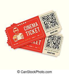 dos, cine, boletos
