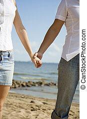 Dos personas enamoradas