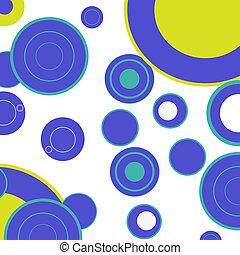 Dotado fondo diferentes líneas coloridas