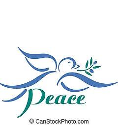 Dove paz