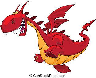 Dragón corriendo