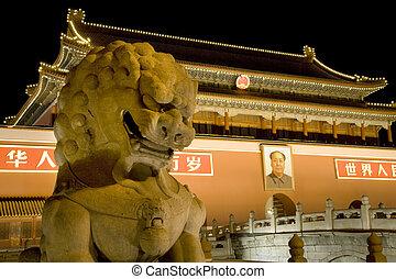 Dragón cuadrado de Tiananmen