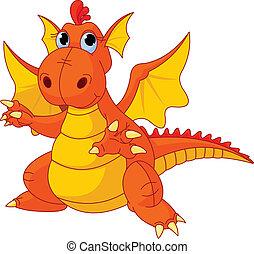 Dragón de Cartoon