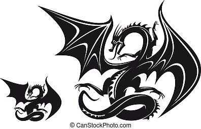 Dragón de fantasía